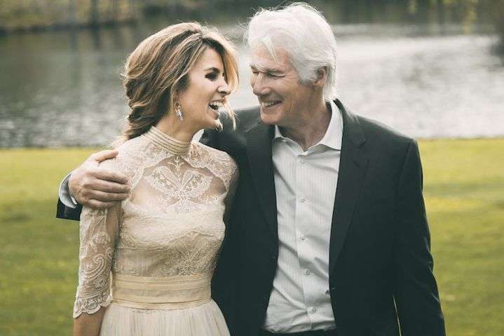 Алехандра Сильва и Ричард Гир - Алехандра Сильва родила сына от 69-летнего Ричарда Гира