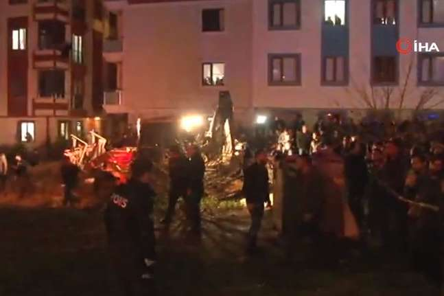 Катастрофа сталася 11 лютого — Поблизу Стамбула впав військовий вертоліт