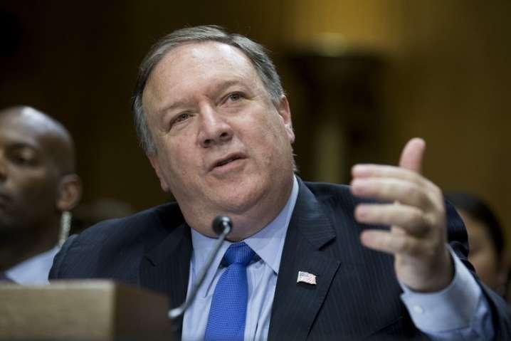 <span>Державний секретар США Майк Помпео.</span> — Держсекретар США закликав Угорщину підтримати Україну
