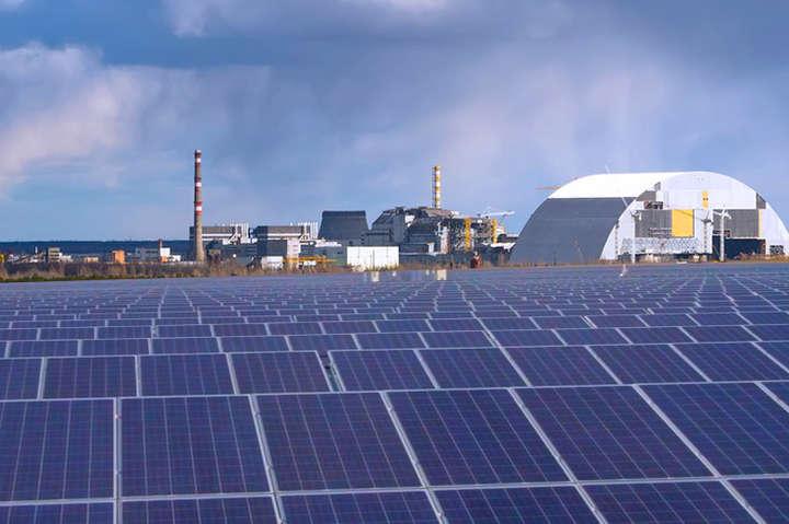 Під станцію відведена територія майже 28 гектарів - На Київщині запрацювала сонячна електростанція