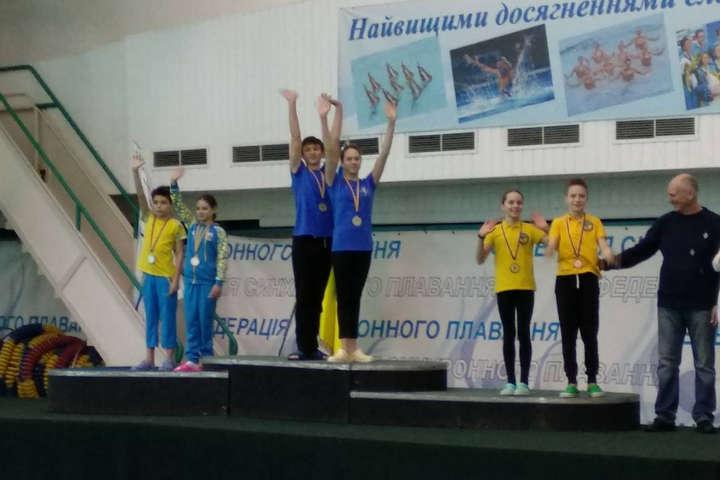 Збірна Одещини здобула «золото» на чемпіонаті України з синхронного плавання