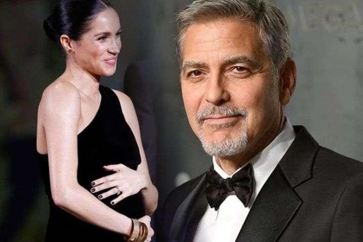 Меган Маркл и Джордж Клуни - Джордж Клуни считает, что Меган Маркл преследуют, как принцессу Диану
