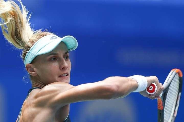Леся Цуренко не відчула труднощів з проходженням стартового раунду - Леся Цуренко на одному диханні впоралася з першою суперницею і вийшла на Сімону Галеп