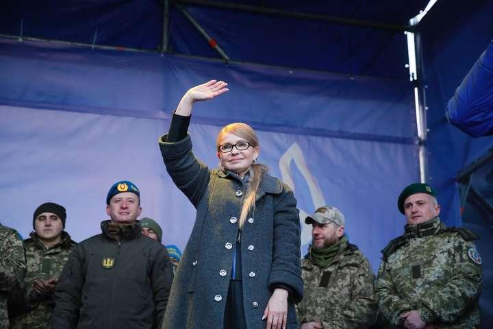 Особливий наголос голова партії «Батьківщина» Юлія Тимошенко зробила на розбудові потужних Збройних Сил - Тимошенко назвала Мінські переговори імітацією