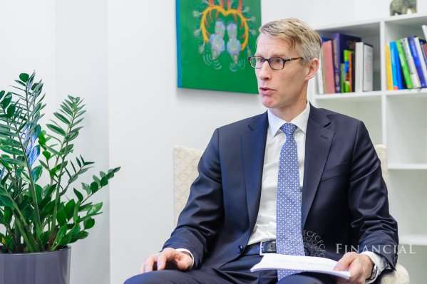Постійний представник МВФ в Україні Йоста Люнгман - В МВФ оцінили нову систему субсидій уряду Гройсмана