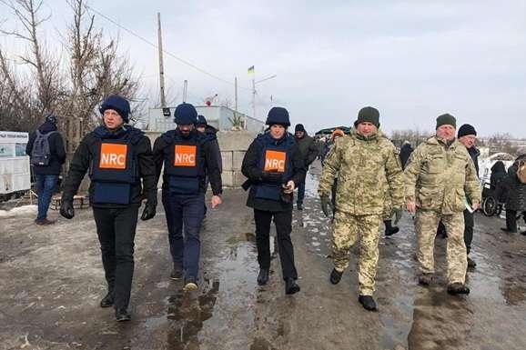 Посол Норвегії в Україні Уле Тер'є Хорпестад 12 лютого відвідав Луганську область - Посол Норвегії відвідав прифронтову Луганщину