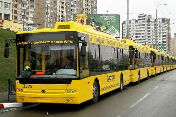 Столична влада планує за п'ять років закупити 400 одиниць трамваїв і тролейбусів