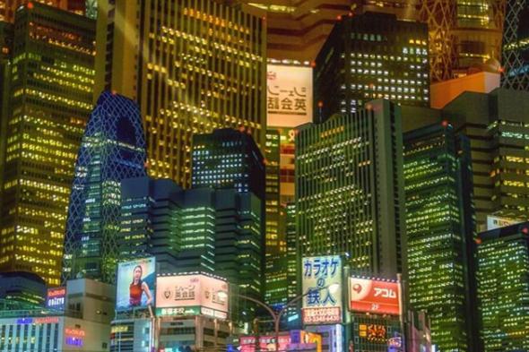Фото: instagram.com/redunchained/ - Город, который не спит: пленяющие фото ночного Токио