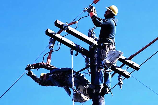 <span>У Чернігівській області 13 лютого відключені 1133 трансформаторних підстанцій</span> - На Чернігівщині без світла опинились понад 240 селищ і міст