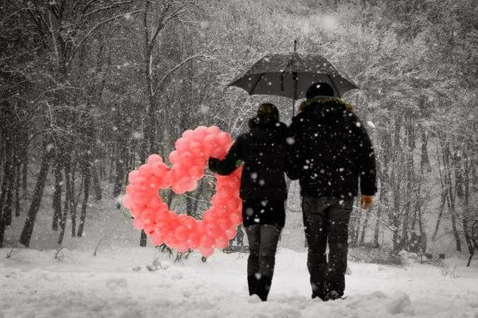У столиці 14 лютого очікується хмарна погода, можливий невеликий сніг та мороз - У День закоханих на сході країни вдарить мороз, на заході – відлига