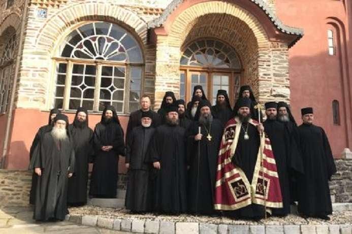 Делегація Православної церкви України відвідала Афон