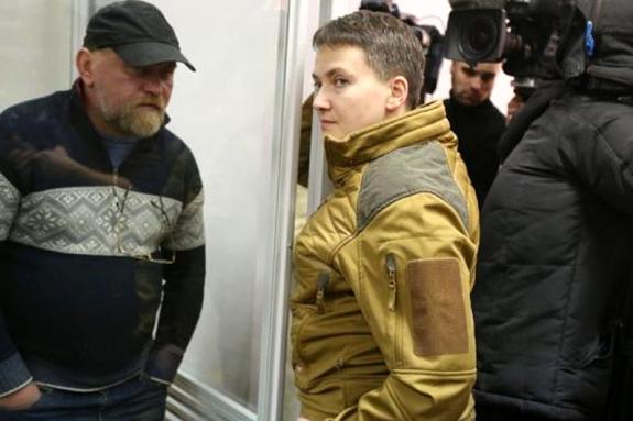 Надію Савченко та Володимира Рубана звинувачують, зокрема, у плануванні перевороту і захопленні влади та підготовці терористичного акту - Суд Чернігова сьогодні починає розгляд справи «Савченко — Рубана»