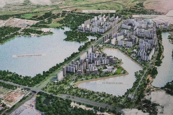 <span>Забудова масиву Осокорки</span> - Кличко оголосив війну забудовникам, що нехтують інтересами громади
