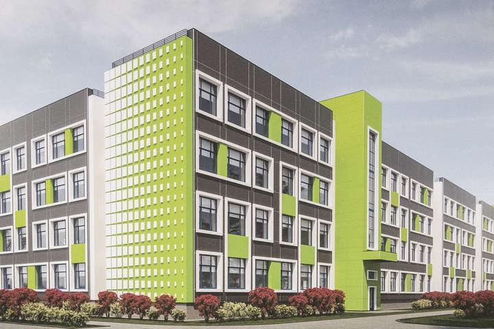 Так виглядатиме реконструйована школа № 42 - У Києві на місці 100-літньої школи зводять нову