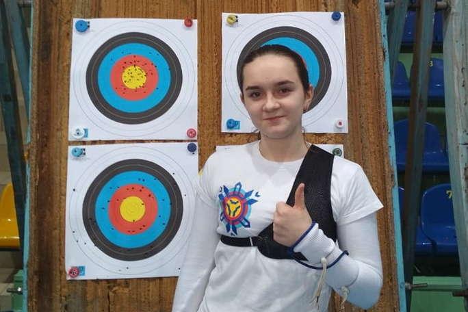 Поліна Ткаченко - Одеська спортсменка стала чемпіонкою України зі стрільбі з лука