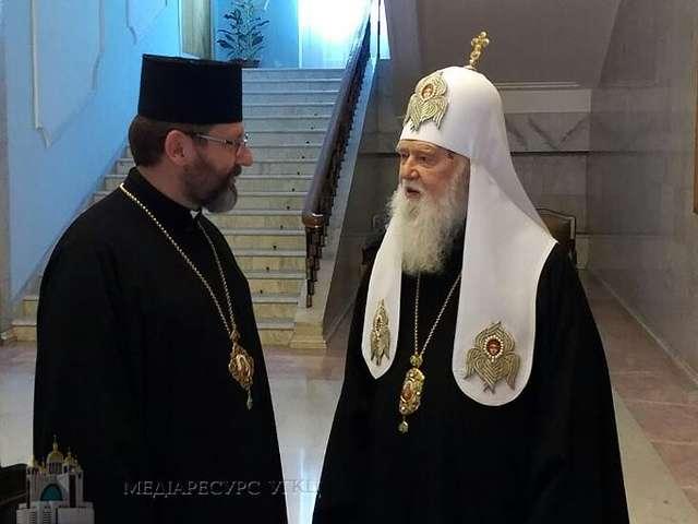 Звернення Святійшого патріарха Філарета до глави УГКЦ Блаженнішого Святослава