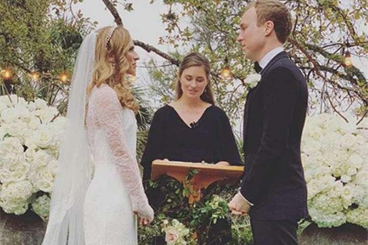 В сети появились фото со свадьбы внучки Джорджа Буша-старшего