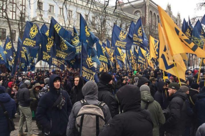 <p>&amp;laquo;Національний корпус&amp;raquo; сьогодні проведе акцію протесту у центрі Києва</p> <p> &#8212; Нацкорпус: оточення Гладковського збирає «тітушок» для провокацій 9 березня у Києві&#187;></p></div> <div class=