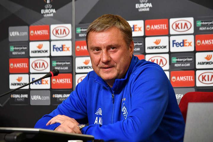 Олександр Хацкевич не опускає рук - Хацкевич: Проти «Челсі» підемо в атаку. Причому великими силами