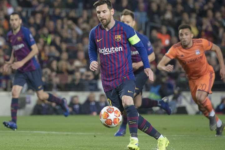 Ліонель Мессі у цій грі виглядав нестримним - Розлючена голом «Барселона» наколотила «Ліону» повну торбу в 1/8 Ліги чемпіонів (відео)