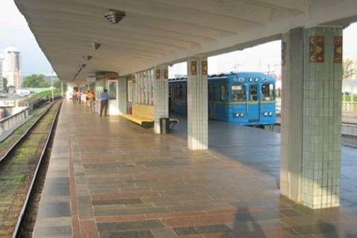 Станція метро «Лівобережна» - На метро «Лівобережна» пасажир потрапив під поїзд