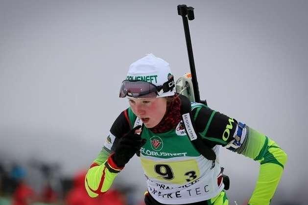 Білоруська біатлоністка Блашко дебютує за збірну України в офіційний змаганнях