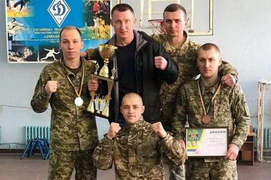 Прикордонники Вінниччини перемогли у чемпіонаті з рукопашного бою