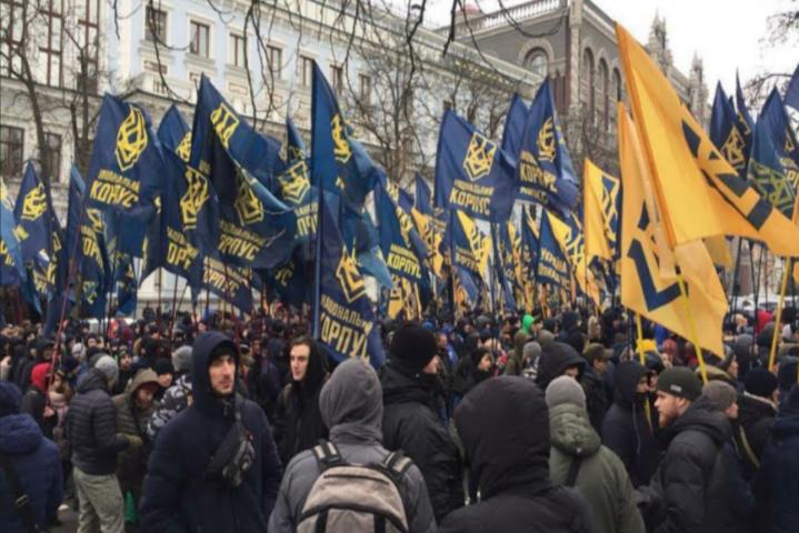 <p>Активісти &amp;laquo;Національного корпусу&amp;raquo; планують провести 16 березня о 12:00 у Києві масштабну акцію на Майдані Незалежності</p> <p> &#8212; Американське посольство попереджає своїх громадян: завтра в Києві буде небезпечно &#171;></p></div> <div class=