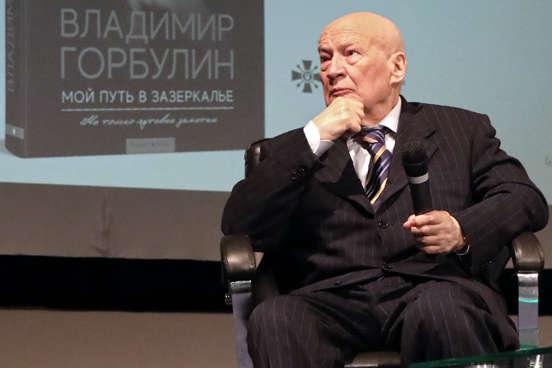 Вчора Володимир Горбулін презентував книгу «Мій шлях у задзеркаллі» - Володимир Горбулін: Світової війни не буде, бо Путін дуже любить життя