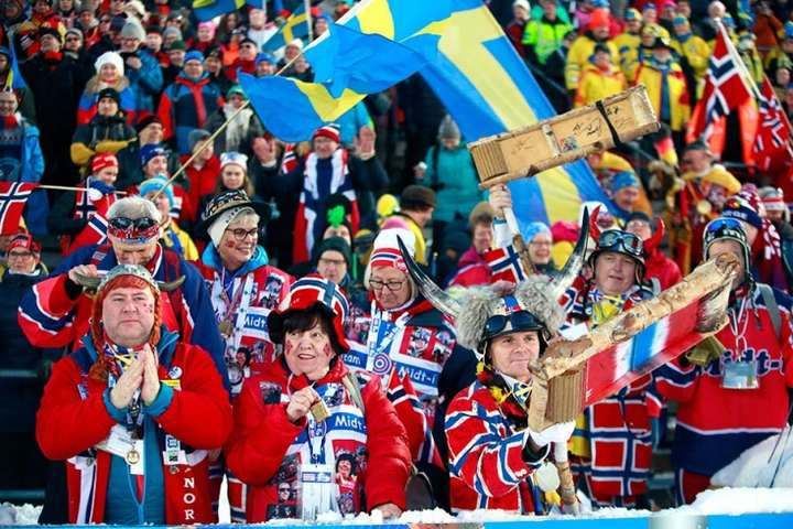 Вдома норвезькі лижні фанати дають жару - Менеджер легендарної шведської лижниці поскаржився на п'яних норвезьких фанатів