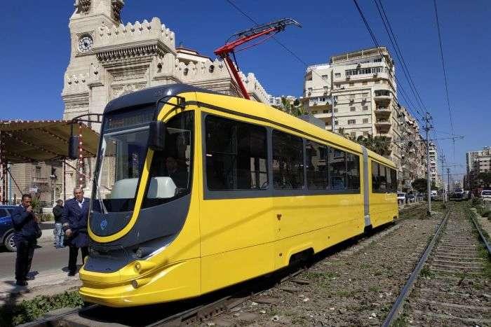 Українські трамваї запрацювали у Єгипті