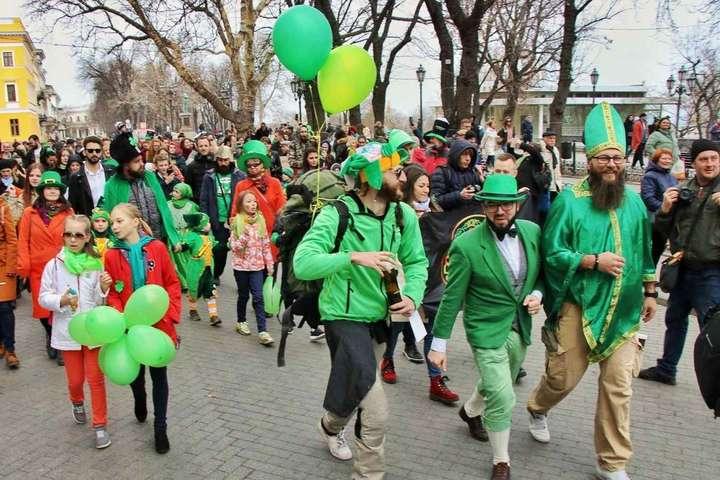 Як в Одесі святкували День святого Патріка. Фоторепортаж з параду