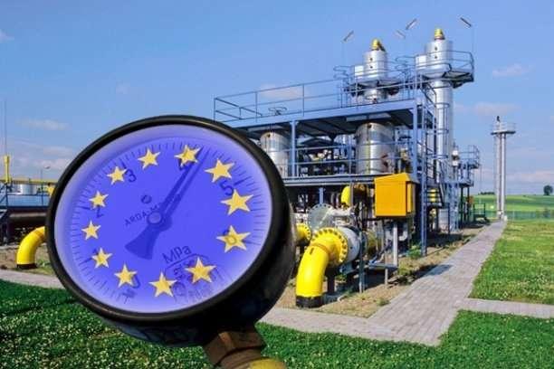 У Європі ціна на газ впала нижче $200 за тисячу кубів