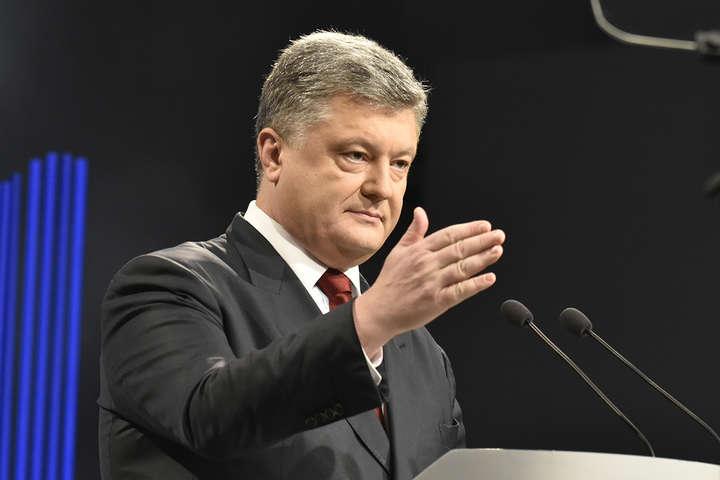 Петро Порошенко — Порошенко заявив, що РФ буде змушена ввести миротворців ООН на Донбас