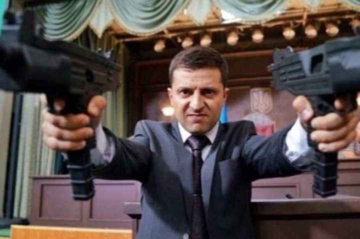 У Порошенка вимагають відкрити справу проти Зеленського за фільм «Слуга народу»