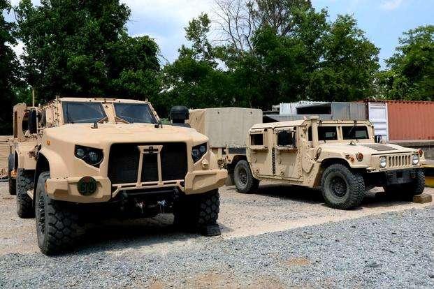 Українські військові отримають 35 бойових машин Hummer від США