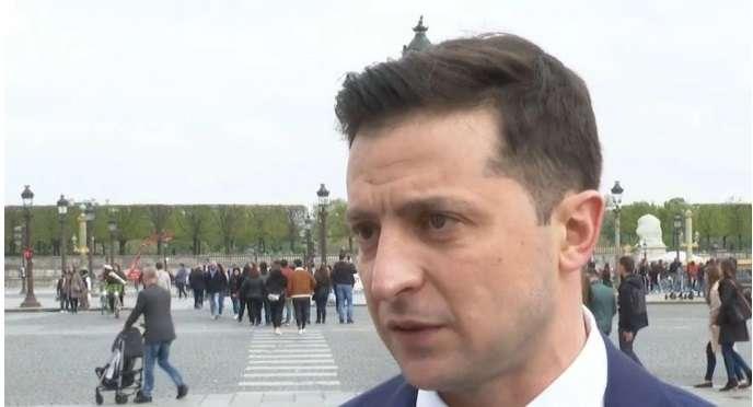 Интересное интервью Зеленского из Парижа
