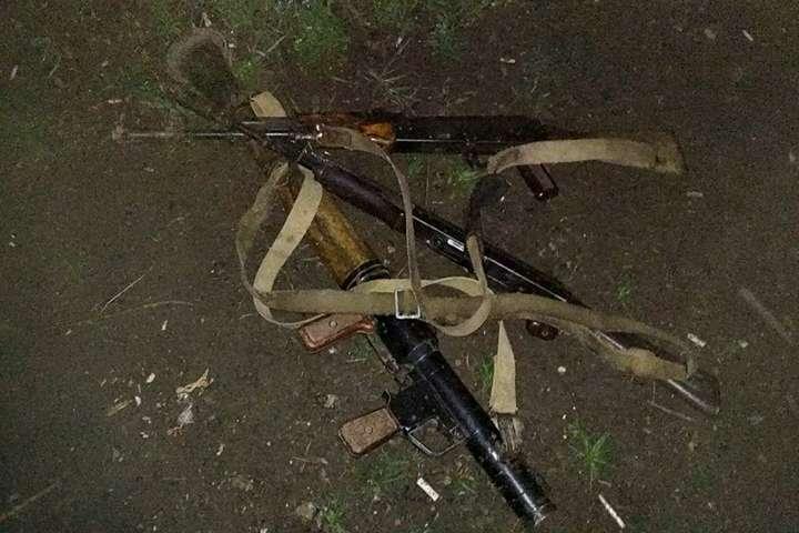 <p>Підрозділ, що виконує завдання на спостережних постах, захопив зброю диверсантів</p> — На Донбасі українські бійці знешкодили групу диверсантів