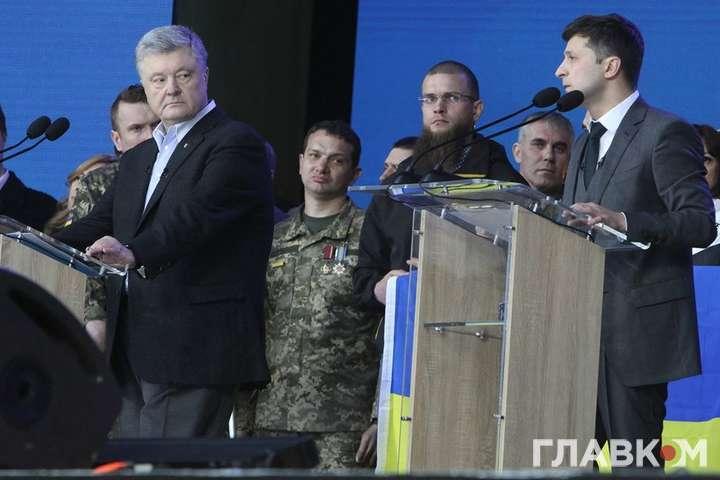 Дебати на «Олімпійському»: Порошенко пояснив, чому перейшов на сцену З