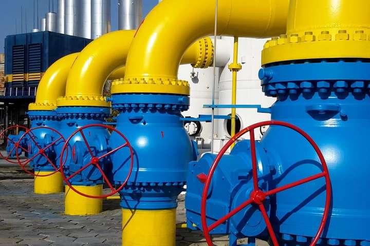 До українських сховищ закачали 1 млрд кубометрів газу