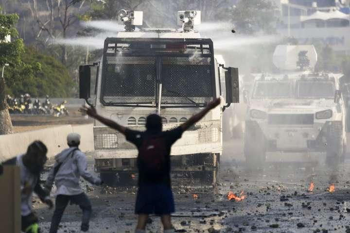 Протести у Венесуелі — Помпео допустив можливість застосування військової сили у Венесуелі