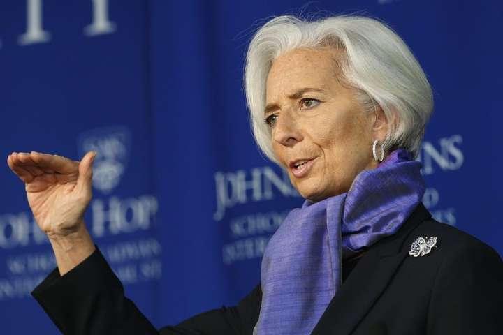Директор-розпорядник МВФ Крістін Лагард — МВФ готовий і надалі підтримувати Україну – Лагард