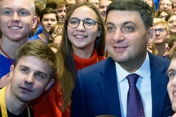 <p>Володимир Гройсман розпочав власну парламентську кампанію Об этом сообщает <a href=