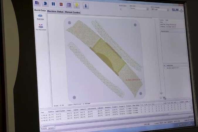 За допомогою селективного лазерного плавлення українські конструктори вже зараз створюють перші унікальні складнопрофільні вироби для ракетно-космічної техніки — В Україні освоюють друк деталей для ракет на 3D-принтері