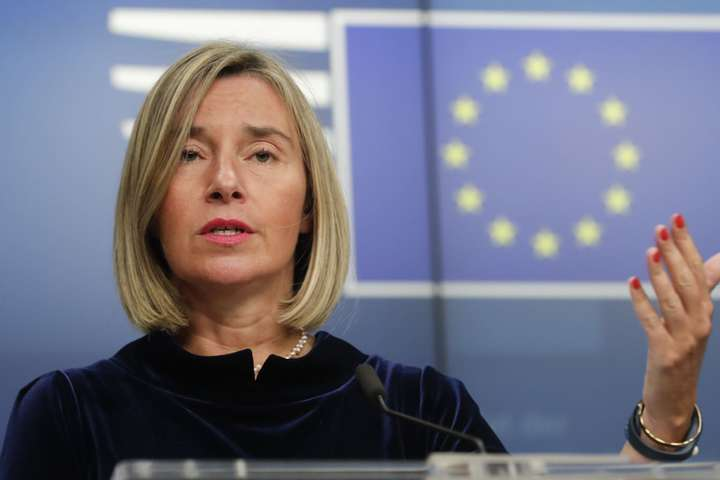 Високий представник ЄС з питань зовнішньої та безпекової політики Федеріка Могеріні — ЄС вивчить можливість введення санкцій через роздачу паспортів на Донбасі — Могеріні