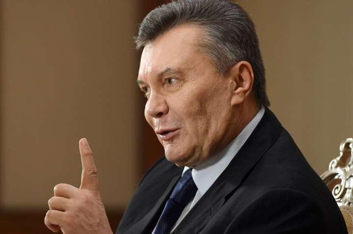 Віктор Янукович — Адвокати Януковича заперечують повернення його грошей в Україну