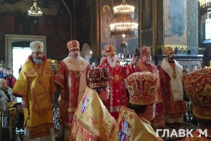На богослужіння до Філарета прибули лише чотири єпископи