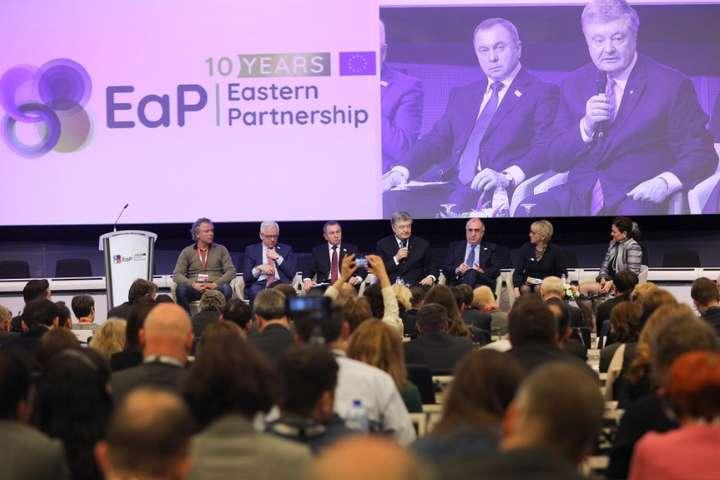 <p>Порошенко виступив на конференції вищого рівня, присвяченій 10-річчю Східного партнерства Об этом сообщает <a href=