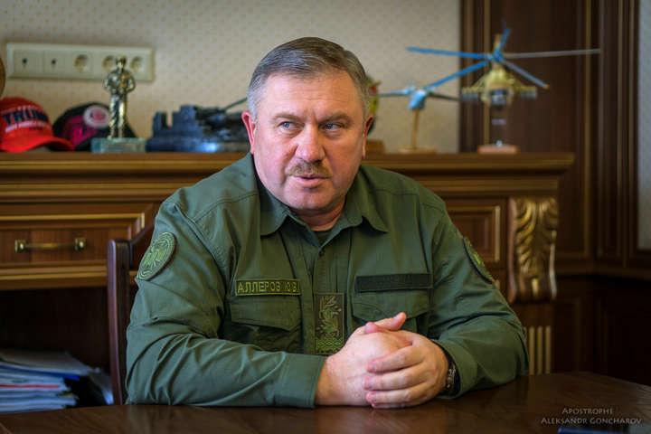 <p>Генерал-лейтенант Юрій Аллеров очолював Національну гвардію України з грудня 2015 року Об этом сообщает <a href=