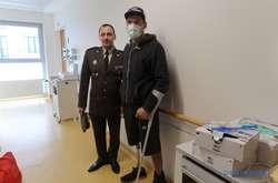Фото: — <p>П'ятеро бійців будуть лікуватися в Берліні, п'ятеро – в клініці в Кобленці та п'ятеро в клініці в Ульмі</p>